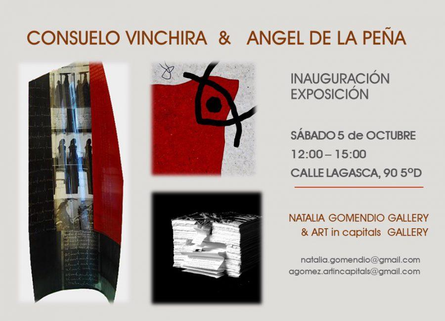 Exposición Consuelo Vinchira y Angel de la Peña