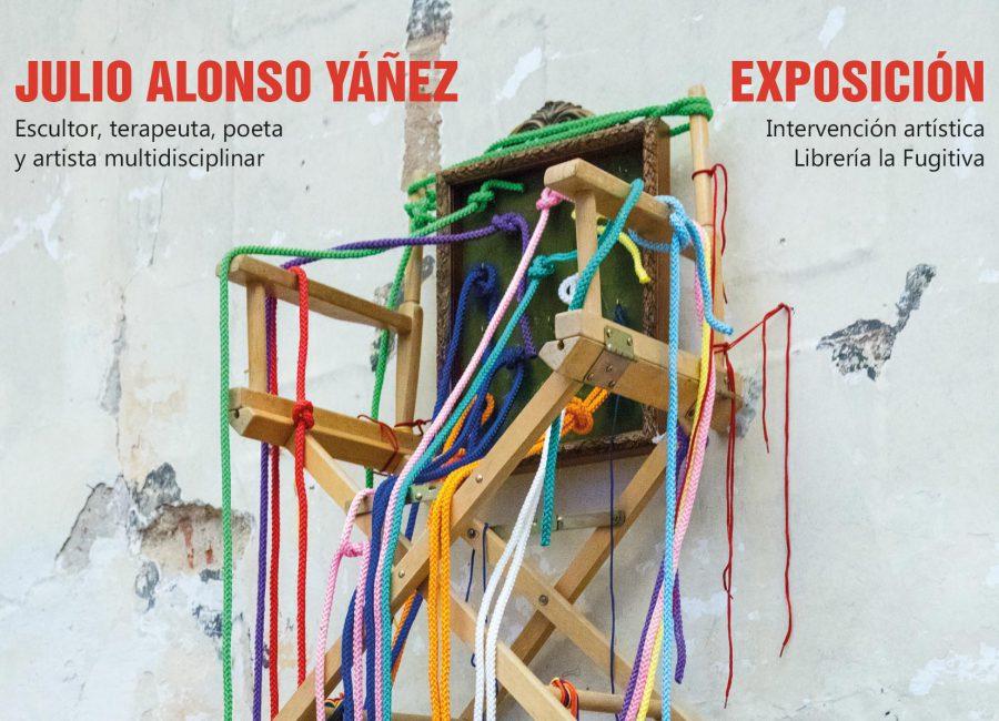 Exposición 'ARTE ENTRE LIBROS' en la librería LA FUGITIVA – Madrid