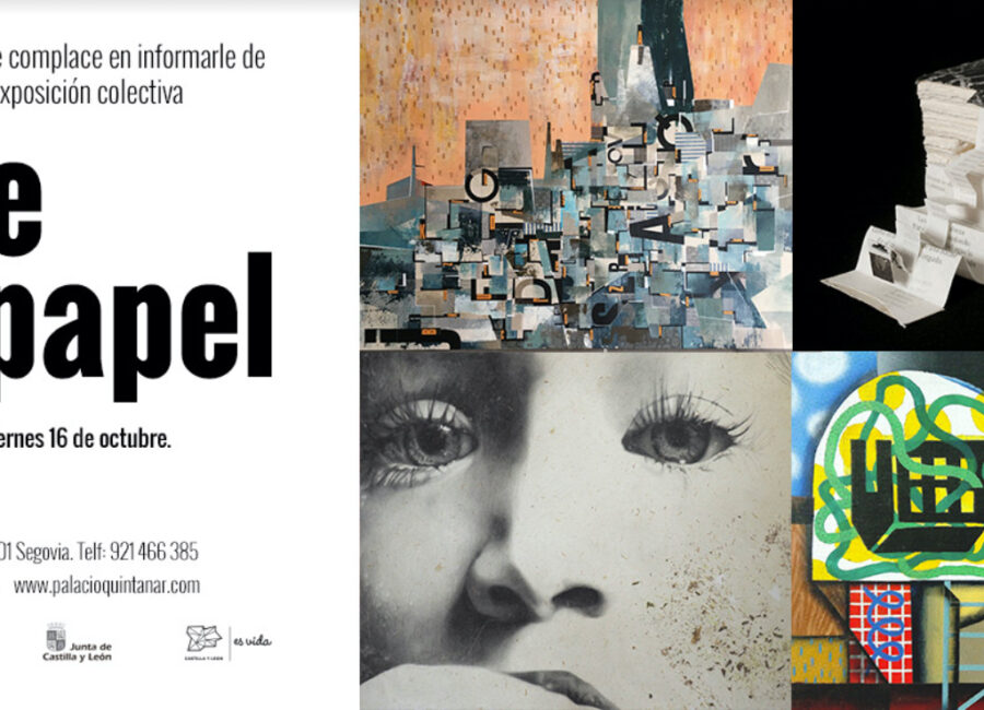Reapertura Palacio Quintanar exposición colectiva 'Arte en papel'
