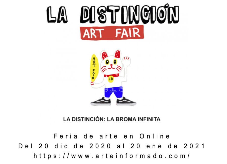 Exposición Feria de arte online Arteinformado – LA DISTINCIÓN: LA BROMA INFINITA